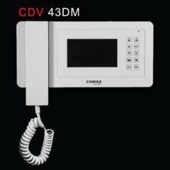 گوشی در باز کن تصویری رنگی کامکث مدل CDV 43DM