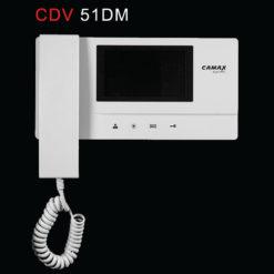 گوشی در باز کن تصویری رنگی کامکث مدل CDV 51DM