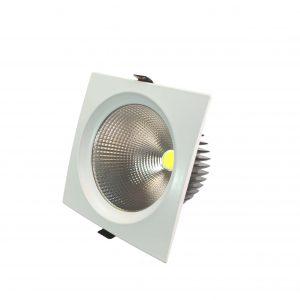 چراغ COB - DOWN LIGHT استفاده در فرم گرد در رنگهای آفتابی و مهتابی و استاندارد