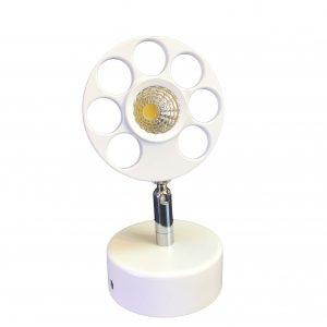 چراغ پروژکتوری INDOOR / COB در رنگهای آفتابی و مهتابی 5x1 وات