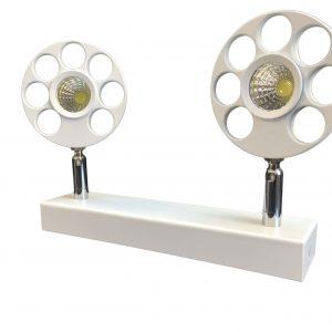 چراغ پروژکتوری INDOOR / COB در رنگهای آفتابی و مهتابی 5x2 وات