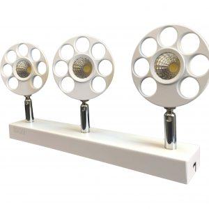 چراغ پروژکتوری INDOOR / COB در رنگهای آفتابی و مهتابی 5x3 وات