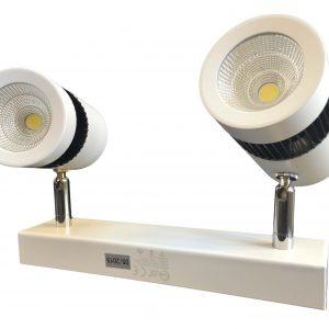 چراغ پروژکتوری INDOOR / COB در رنگهای آفتابی و مهتابی 9x2 وات