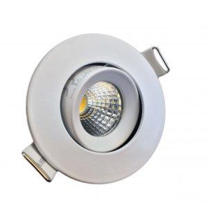 چراغ COB - DOWN LIGHT شفاف متحرک در رنگهای آفتابی و مهتابی و استاندارد