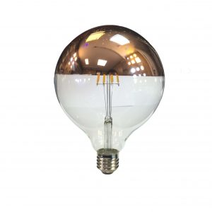 لامپ فیلامانی دکوراتیو ادیسون زاویه 360 درجه رنگ آفتابی