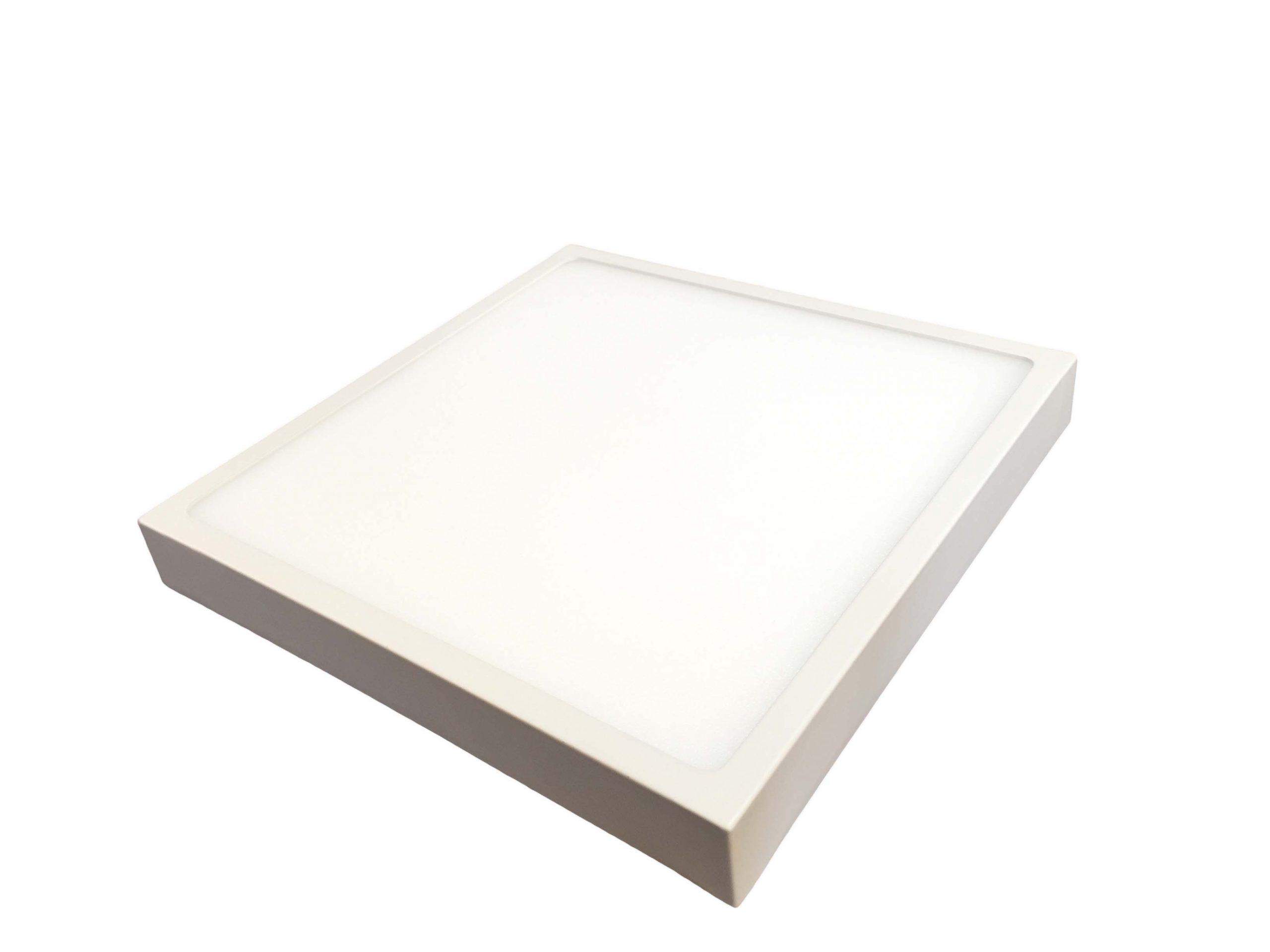 پنل روکار SMD مربع در رنگهای آفتابی، مهتابی و استاندارد 4000K
