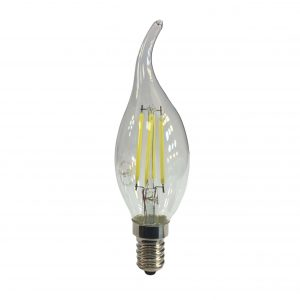لامپ لوستری فیلامانی 4 وات E14 در رنگهای آفتابی و مهتابی
