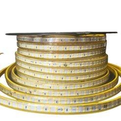 ریسه های 220 ولت SMD 5730 IP65 در رنگ های آفتابی، مهتابی و زرد