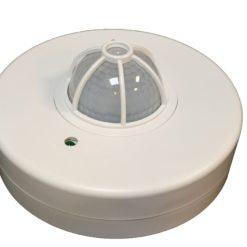 سنسور حرکتی INFRARED سقفی روکار حساسیت 3 تا 2000 لوکس
