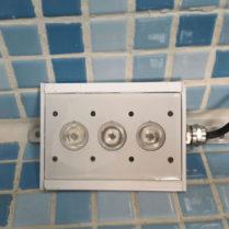 پروژکتور روکار استخری کنج تک رنگ