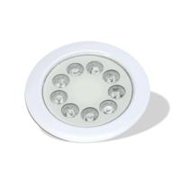 چراغ توکار استخری 9 وات مولتی کالر-9REM